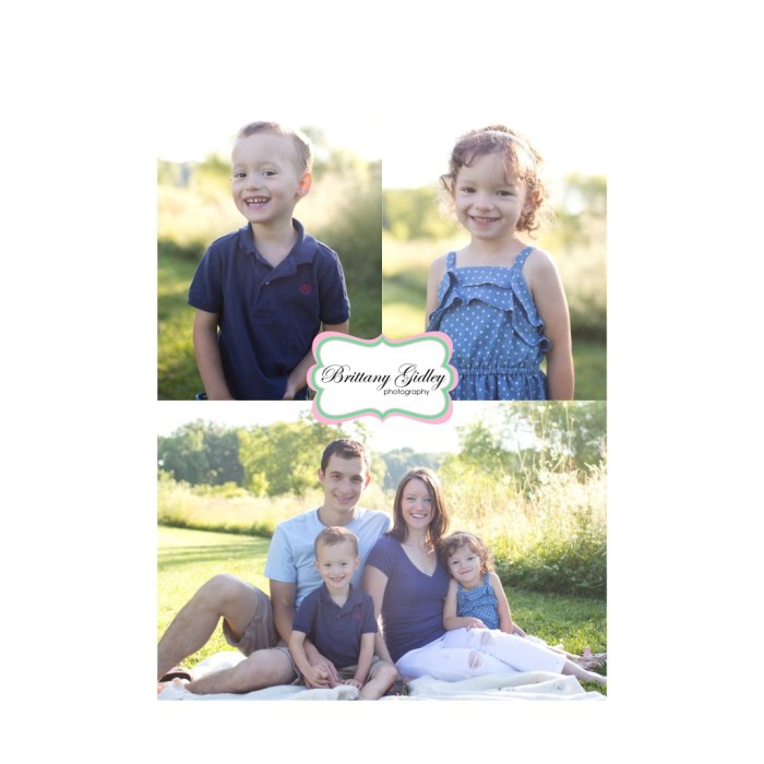 Cleveland Photographer | Twins | Family Session | Start With The Best | BGP | Family | Brittany Gidley Photography LLC
