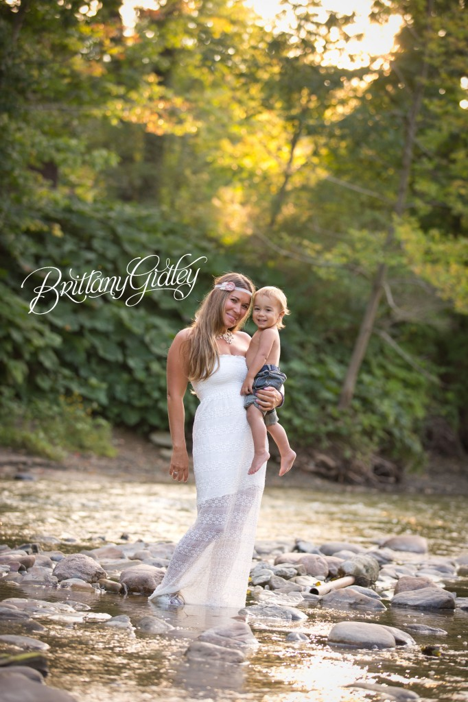 Cleveland Photographer | River | Sunset | Gorgeous | Toddler Photography | Brittany Gidley Photography LLC