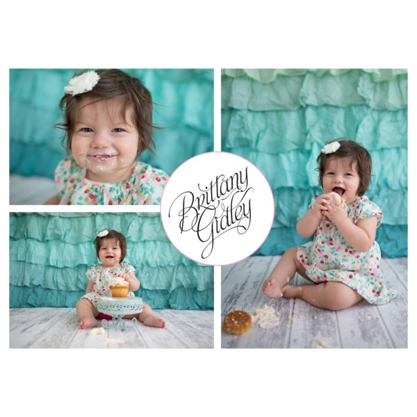 Beatrice 12 Months | 12 Month Baby | One Year Baby | Baby Pictures | Cake Smash