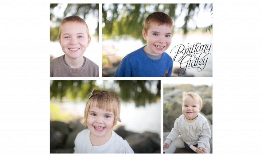 Fun Family Photography | 4 kids | Edgewater Park | Cleveland Ohio | Moments | Collage