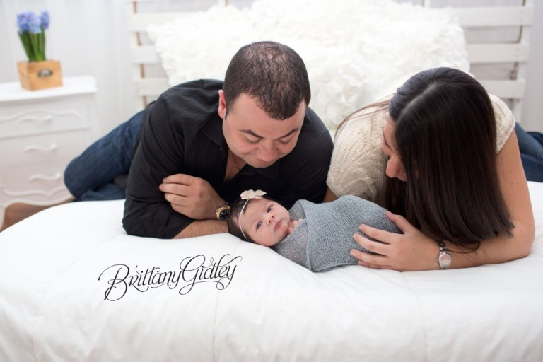 White | Newborn | Posing | Newborn Inspiration | Family Pose | Brittany Gidley Photography LLC | Newborn