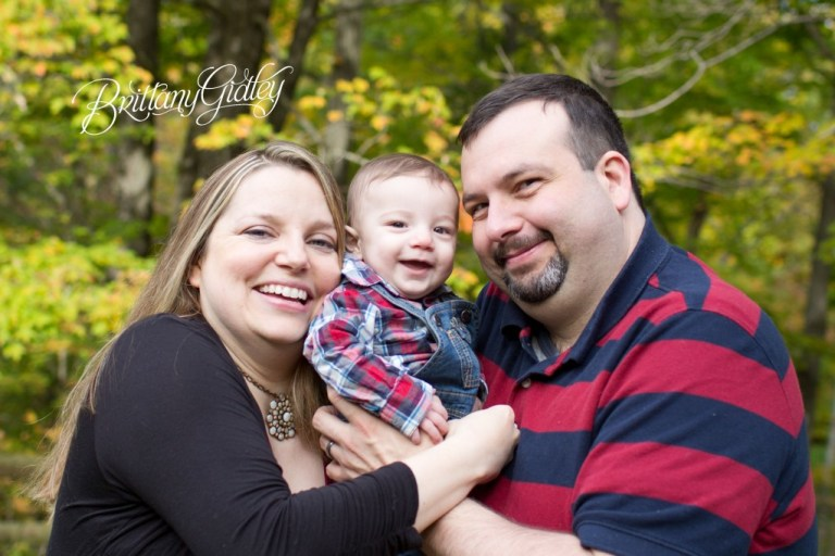 6 Month Baby | Apple Orchard | Chesterland, OH | Baby | Brittany Gidley Photography LLC