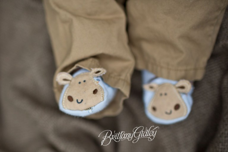 Little Brother | 3 Month Old Baby | Fall | Fortier Park | Olmsted Falls, OH | Brittany Gidley Photography LLC