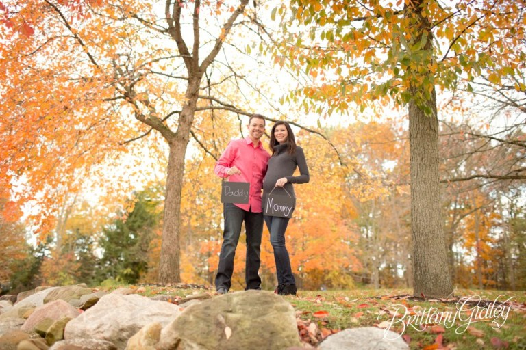 Fall | Autumn | Cleveland Maternity | Photographer Photoshoot | Pregnancy | Maternity Posing | Inspiration | Brittany Gidley Photography LLC