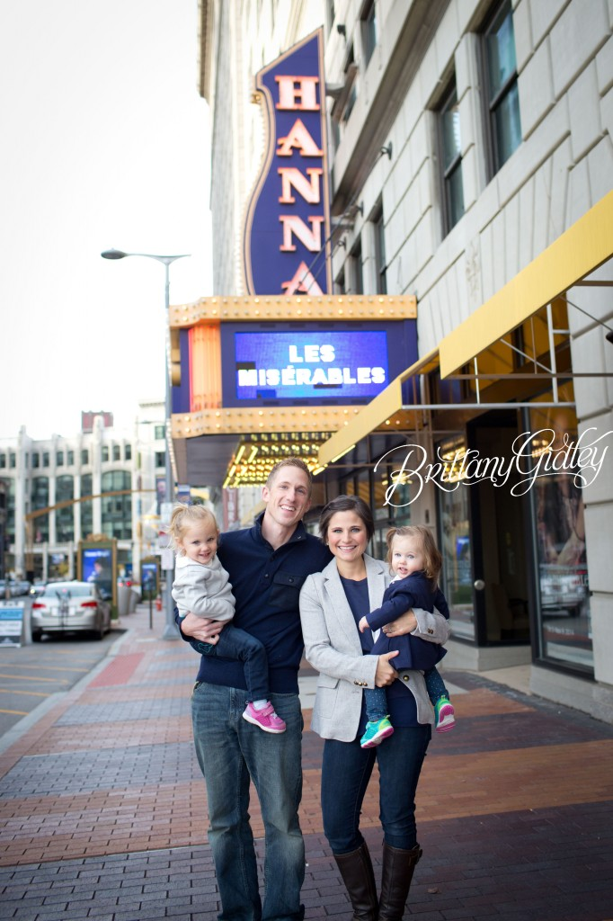 Downtown Family | Cleveland Ohio | Family | Downtown Cleveland | Ohio | Brittany Gidley Photography LLC