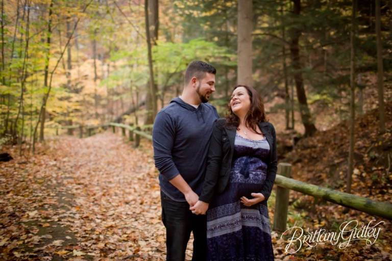 Maternity Photographer | Maternity Photos | Pregnancy Pictures | Fall | Brittany Gidley Photography LLC