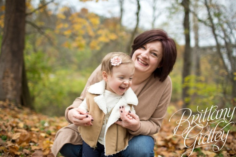 Fall Photography | Toddler | Family | Brittany Gidley Photography LLC | Autumn | Leaves