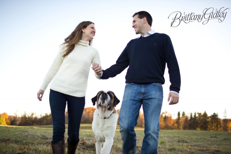 Family | St Bernard | Pet Photography | Start With The Best | Big Dog | Jefferson | Brittany Gidley Photography LLC