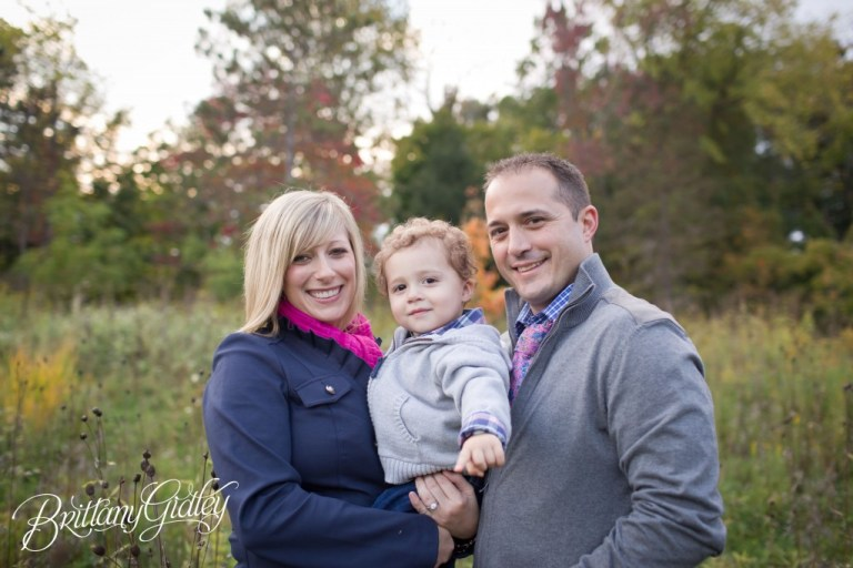 Family Fun | Fall Colors | What to Wear | 18 Months | Autumn | Akron Ohio | Brittany Gidley Photography LLC