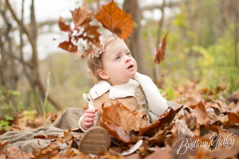 Fall Foliage | Toddler | Family | Brittany Gidley Photography LLC | Autumn | Leaves