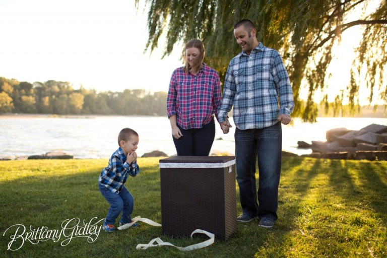 Gender Reveal | Pink or Blue | Reveal Party | Baby Gender | Brittany Gidley Photography LLC