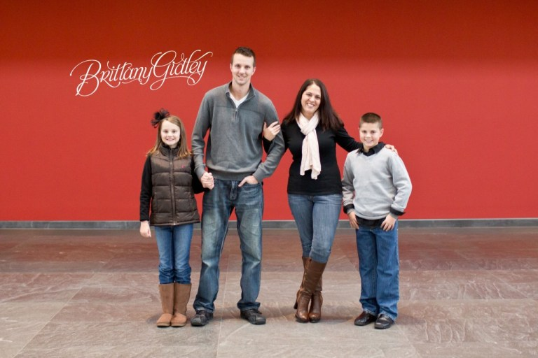 Winter Snow Photo Shoot | The Kulikowski Family | Cleveland Ohio | Brittany Gidley Photography LLC