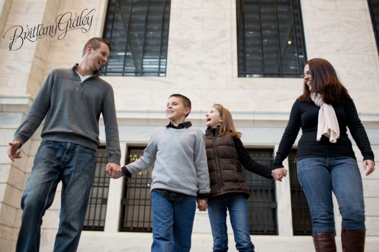 Winter Family Photos | Winter Snow Photo Shoot | The Kulikowski Family | Cleveland Ohio | Brittany Gidley Photography LLC