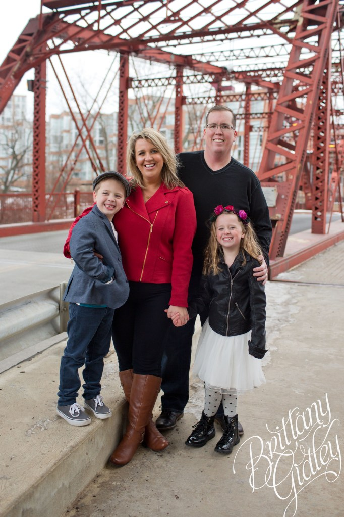 The Mahoney Family | Urban Family Photography | Downtown Cleveland