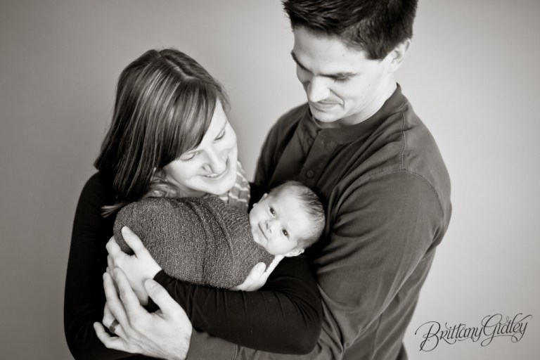 Baby and Parents | Newborn and Parents | Photography Cleveland Ohio | Start With The Best | Brittany Gidley Photography LLC