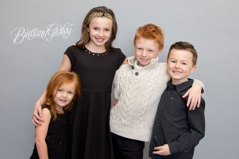 Extended Family Portraits | Cousins | Surprise Photo Shoot | Start With The Best | BGP | Love | Brittany Gidley Photography LLC