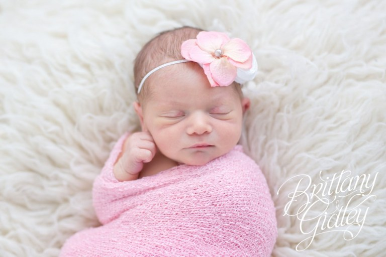 Newborn Session | Pink | Details | Posing Inspiration | Baby Girl | Brittany Gidley Photography LLC