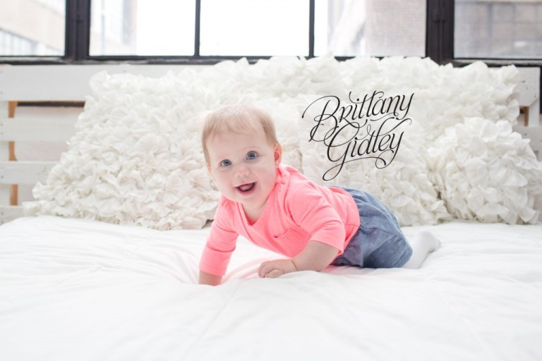 9 Month Old | Baby Photography | Happy Baby | Brittany Gidley Photography LLC