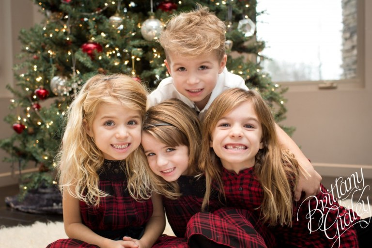Christmas | Holiday Lifestyle | Children | Brittany Gidley Photography LLC