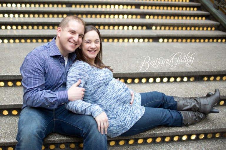 Downtown Maternity   Cleveland, Ohio   Brittany Gidley Photography LLC