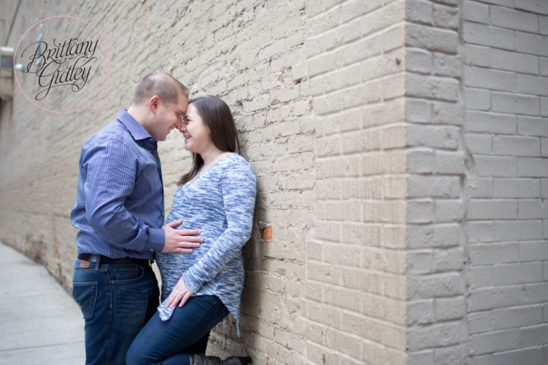 Downtown Maternity | Downtown Cleveland, Ohio | Brittany Gidley Photography LLC