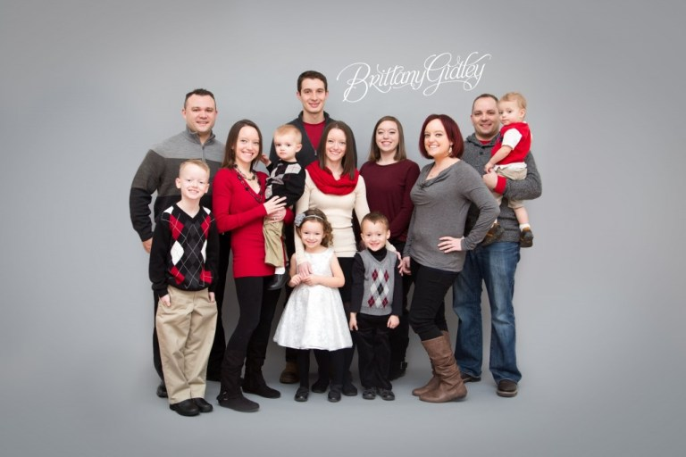 Extended Family Pictures | Seamless | Love | Cousins | Brittany Gidley Photography LLC | Start With The Best