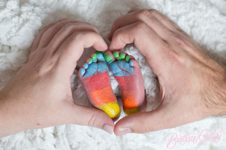 Newborn Baby | Love | Cleveland | Rainbow Baby | Start With The Best | Brittany Gidley Photography LLC