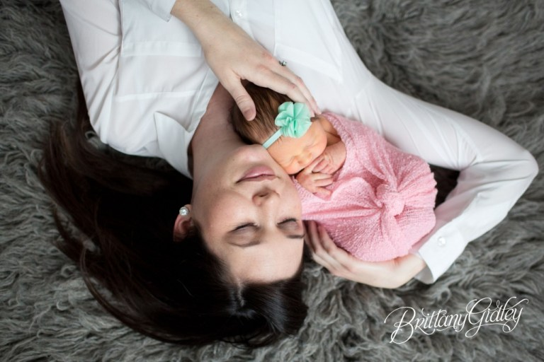 Akron Newborn Photography | Family | Inspiration | Newborn | Brittany Gidley Photography LLC