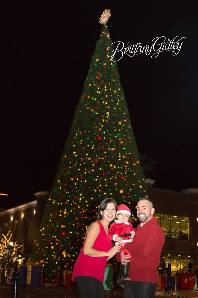 Holiday Photographer | Christmas Tree | Crocker Park | Westlake Ohio | Brittany Gidley Photography LLC