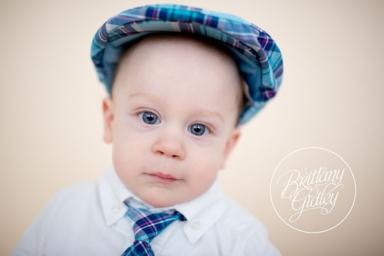 12 Month Old Baby | Family | Studio | Natural Light | Inspiration | Cleveland | Brittany Gidley Photography LLC