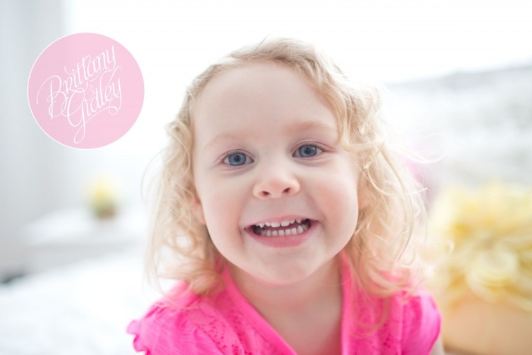 Three Year Portraits | Three Year Old | Third Birthday | Start With The Best | Brittany Gidley Photography LLC