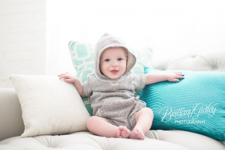 Baby Photo Shoot | 6 Month Baby | Start With The Best | Brittany Gidley Photography LLC | Inspiration | Family