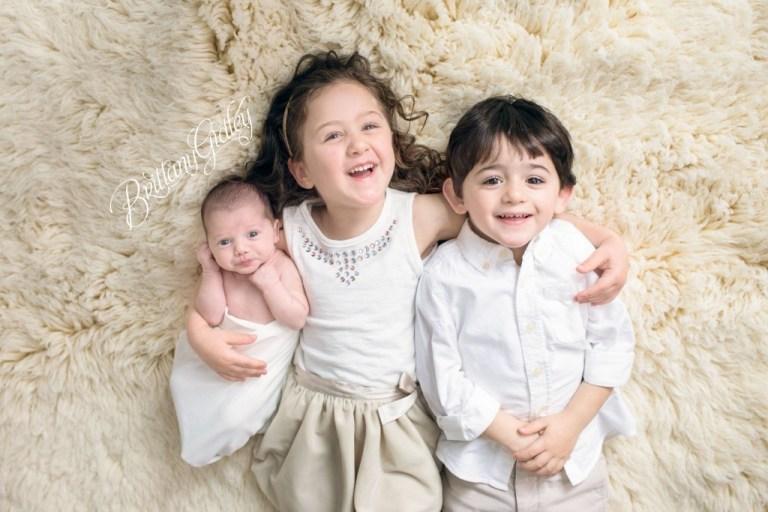 Newborn Photography   Cleveland, Ohio   Newborn Photo Shoot   Newborn Photographer   Baby Boy   Cream & White   Brittany Gidley Photography LLC