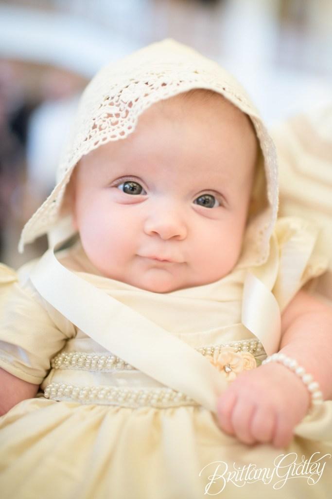 Happy Baptism Stella | Cleveland Baptism Photographer
