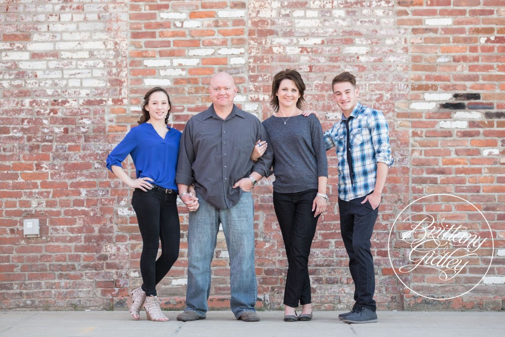 The Guthrie Family | Best Family Photographer Cleveland | Downtown Cleveland