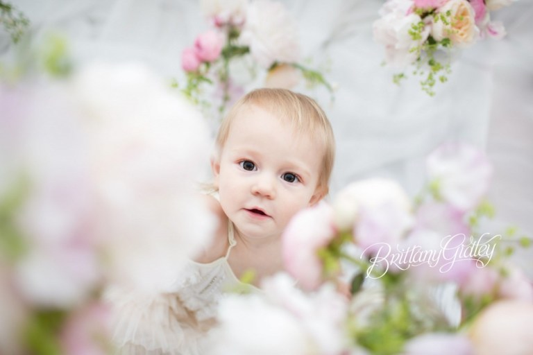 Fresh Floral | Best Baby Photographer Cleveland | Family Photography | Brittany Gidley Photography LLC