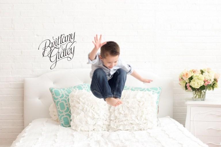 Studio Bed | Natural Light Studio | Best Child Photographer | Cleveland, Ohio