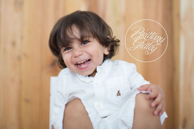 Big Brother | Toddler | Studio | Natural Light | Start With The Best | Brittany Gidley Photography LLC