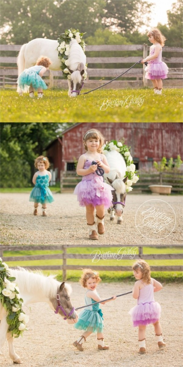 Pony Princesses | Cleveland Ohio | Dream Sessions | Child Photographer | Child Photography | Best Child Photographer
