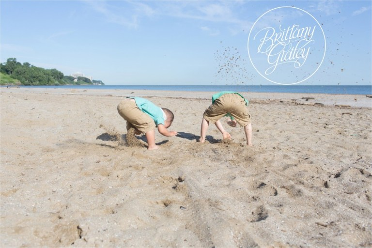 Cleveland Beach Photographer | Start With The Best | Family of 5| Boys | Brothers | Edgewater Park