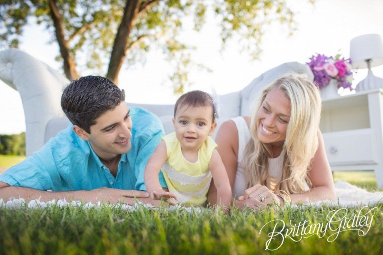 Cleveland Baby Photographer | Edgewater Beach Park | Cleveland Ohio | Edgewater Reservation | Baby Photography | Brittany Gidley Photography