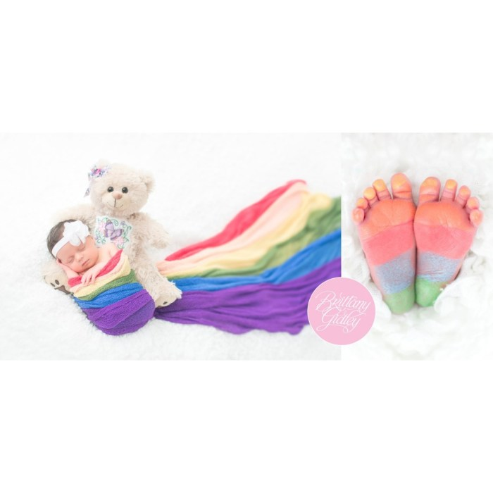 Rainbow Baby | Newborn Baby | Baby Girl | Newborn Photo Shoot | Newborn Portraits | Cleveland, Ohio