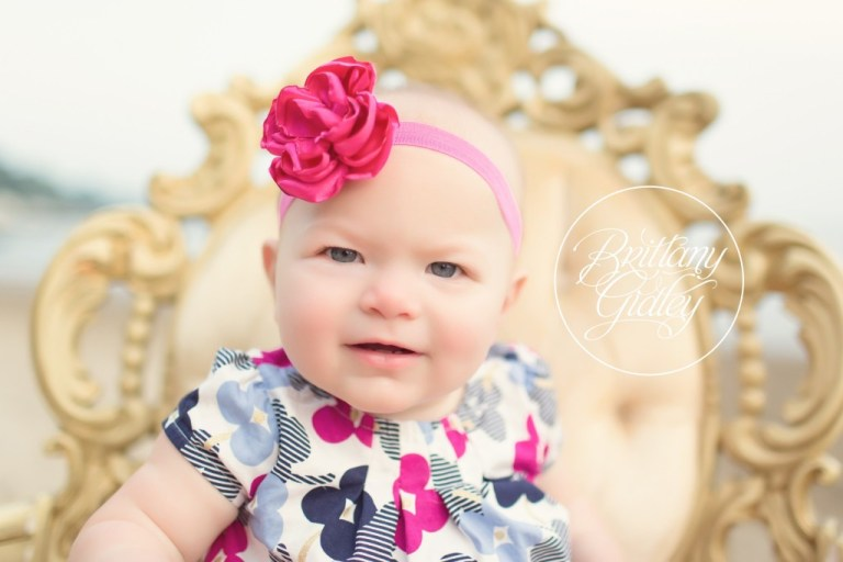 Huntington Beach | Baby Girl | Baby Photographer | 12 Month Baby Pictures