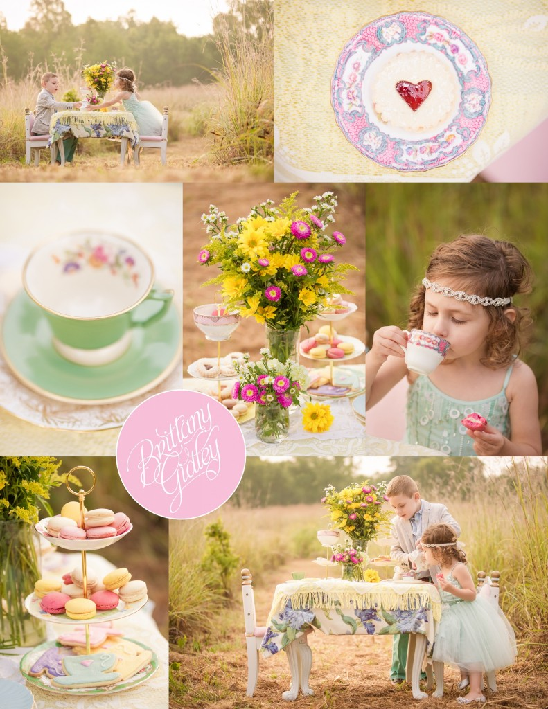Whimsical Child Photographer | Tea Party | Sibling Picture Inspiration | Tutu Du Monde | Cleveland, Ohio | Brittany Gidley Photography LLC