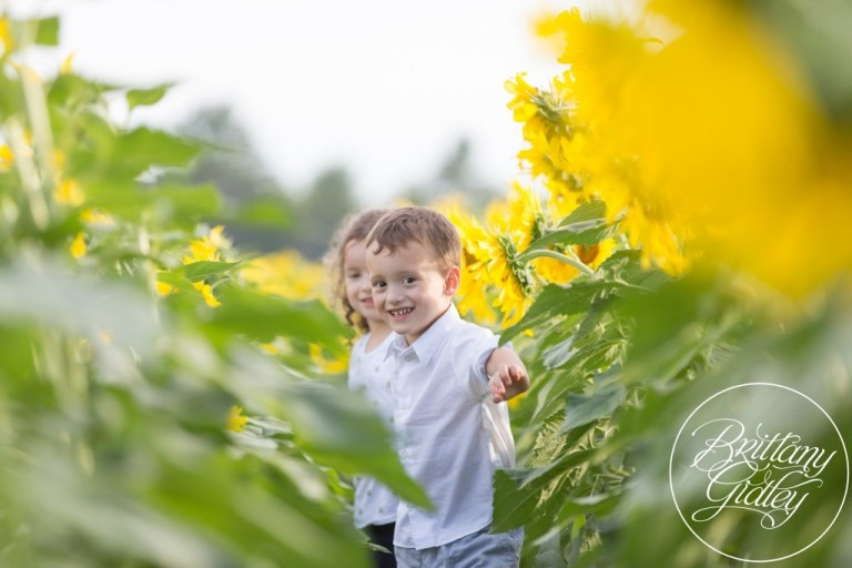 Flower Photo Shoot | Brittany Gidley Photography LLC | Sunflowers | Twins | Prayers From Maria