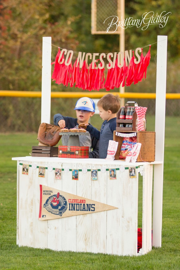 Dream Session | Concessions | Rock The Shot | Details | Family | Play Ball | Brittany Gidley Photography LLC | Cleveland Indians