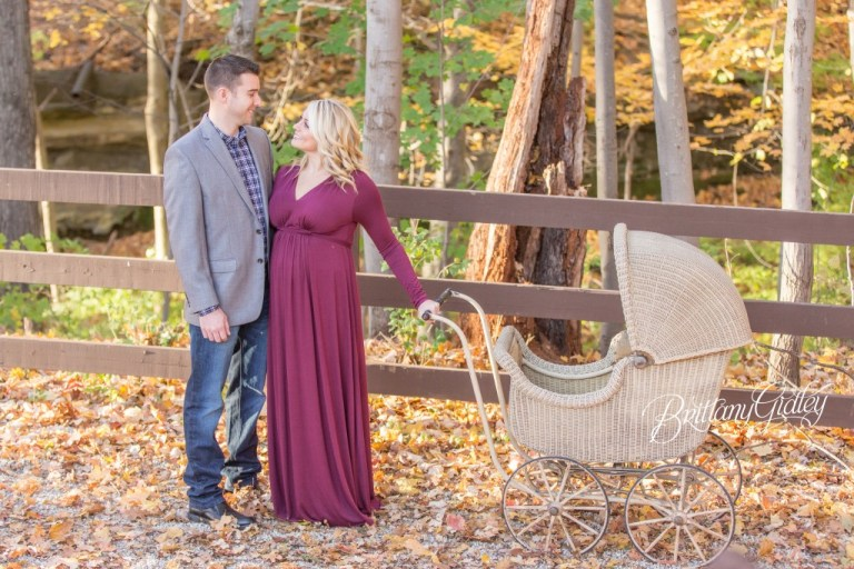 Fall Maternity Photographer | Fortier Park | Olmsted Falls, Ohio | Fall Portraits | Maternity | Pregnancy