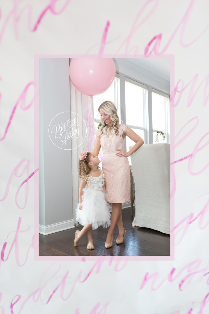 Mommy & Me Session | Ladies Who Brunch | One Stylish Party Balloon | Runner by Seaworthi | Inspiration | Start With The Best | Brittany Gidley Photography LLC