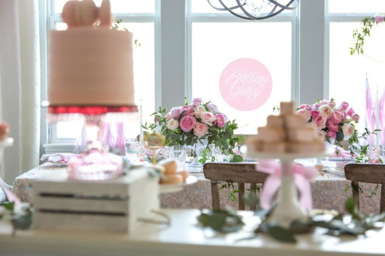 Ladies Who Brunch | Styled Session | Pink | Brunch | Kelsey Elizabeth Cakes | Sweet Flo's Candy | Tablescape | Inspired