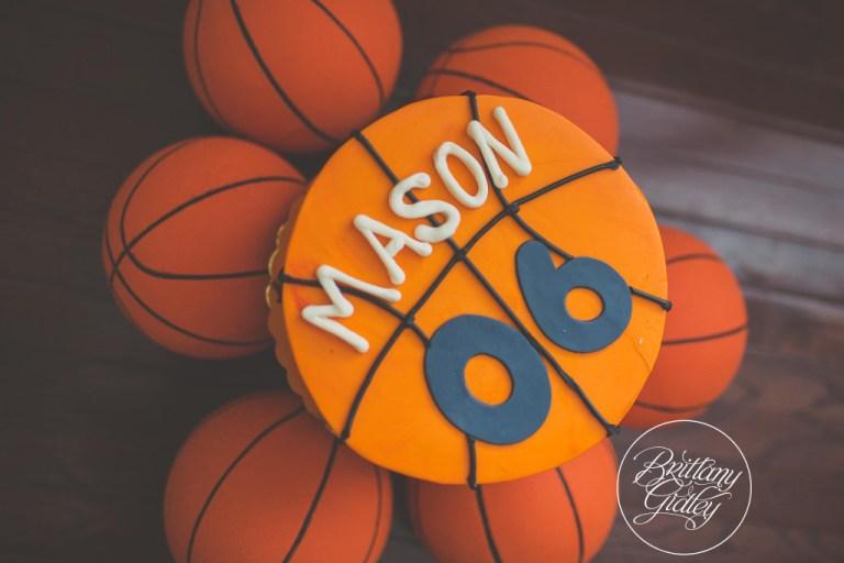 Basketball Cake | NBA | Kelsey Elizabeth Cakes | Basketball Birthday Party | One Stylish Party | Basketball Party | Cleveland Cavaliers